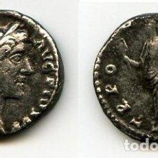 Monedas Imperio Romano: ANTONINO PIO DENARIO. Lote 106042547