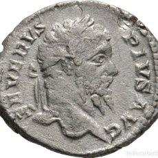 Monedas Imperio Romano: IMPERIO ROMANO! SEPTIMO SEVERO! 193-211! DENARIO PLATA! ROMA! AÑO: 206! EBC. Lote 108331547
