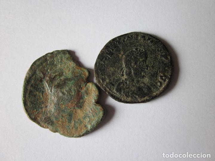 SESTERCIO Y MAYORINA. TREBONIANO GALLO Y VALENTININIANO. (Numismática - Periodo Antiguo - Roma Imperio)