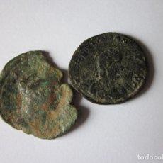 Monedas Imperio Romano: SESTERCIO Y MAYORINA. TREBONIANO GALLO Y VALENTININIANO.. Lote 108717907