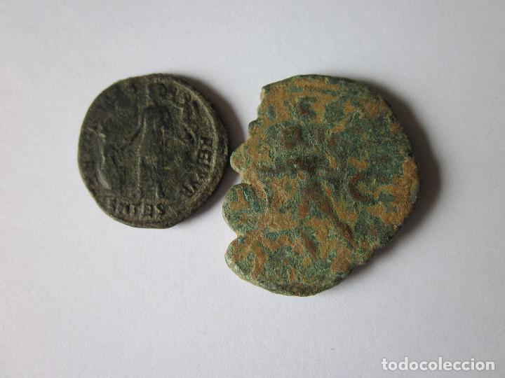 Monedas Imperio Romano: Sestercio y mayorina. Treboniano Gallo y Valentininiano. - Foto 2 - 108717907