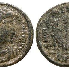 Monedas Imperio Romano: CONSTANTINO I FOLLIS BUSTO / SOLDADOS ESCOLTANDO ESTÁNDARTE 2,55 G / 18 MM MBC. Lote 109210315