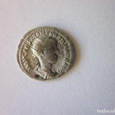 Monedas Imperio Romano: ANTONINIANO DE GORDIANO III. PAZ ESTANTE CON CETRO. PLATA.. Lote 109829907