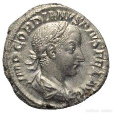 Monedas Imperio Romano: IMPERIO ROMANO! DENARIO! PLATA! GORDIANO III 238-244! ROMA! BUSTO / PIETAS SC-/EBC+! SIN CIRCULAR-. Lote 110145319