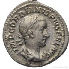 Monedas Imperio Romano: IMPERIO ROMANO DENARIO PLATA! GORDIANO III 238-244! ROMA! BUSTO / APOLO SC-/EBC+! SIN CIRCULAR-. Lote 110257495