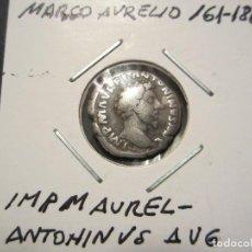 Monedas Imperio Romano: DENARIO DE PLATA DE MARCO AURELIO (161 AL 180). Lote 110260527