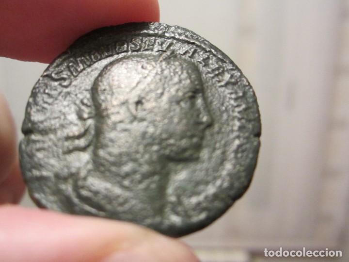 MONEDA DE 1 SEXTERCIO DE ALEJANDRO SEVERO (222 AL 235) (Numismática - Periodo Antiguo - Roma Imperio)