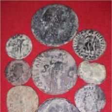 Monedas Imperio Romano: LOTE 9 MONEDAS ROMANAS. Lote 110794483