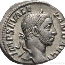 Monedas Imperio Romano: IMPERIO ROMANO! ALEJANDRO SEVERO 222.235! DENARIO DE PLATA! ROMA! SC! SIN CIRCULAR. Lote 111542423