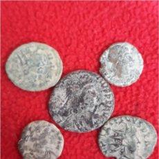 Monedas Imperio Romano: LOTE 5 MONEDAS ROMANAS R5. Lote 146307272