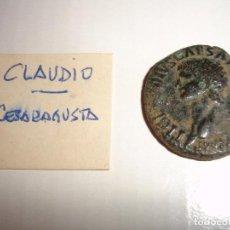Monedas Imperio Romano: MONEDA ROMANA CESAR AUGUSTA CLAUDIO. Lote 113140331