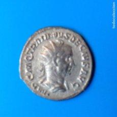 Monedas Imperio Romano: IMPERIO ROMANO: PRECIOSO ANTONINIANO DE PLATA EMPERADOR TRAJANO DECIO (249-51 DC). Lote 113384699