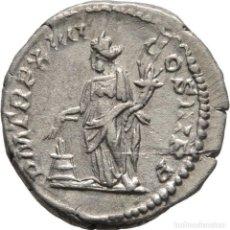 Monedas Imperio Romano: IMPERIO ROMANO! SEPTIMO SEVERO (193-211)! DENARIO DE PLATA! ROMA! AÑO 206! 3,05 G / 17 MM EBC-. Lote 113989219