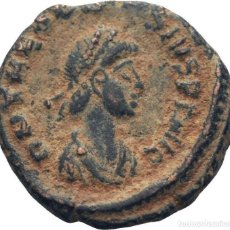 Monedas Imperio Romano: IMPERIO ROMANO! TEODOSIO I, 379-395 AE4 O.J. (BRONCE)! MBC+. Lote 114670871