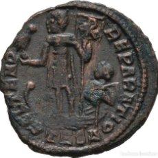 Monedas Imperio Romano: IMPERIO ROMANO! CONSTANCIO II (337-361)! AE3 1/2 CENTENIONALIS! THESSALONICA! EBC ESCASO. Lote 115230343