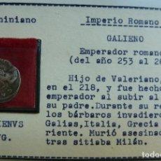 Monedas Imperio Romano: ANTONINIANO. GALIENO. 253 - 268. IMPERIO ROMANO. Lote 115467403