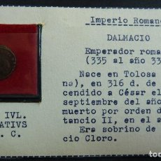 Monedas Imperio Romano: DALMACIO. 335 AL 338. Lote 115471767