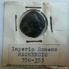 Monedas Imperio Romano: MAGNENCIO. 350 - 353. Lote 115473427