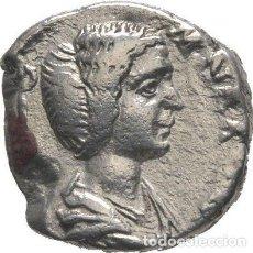 Monedas Imperio Romano: IMPERIO ROMANO! JULIA DOMNA. AUGUSTA, 193-217! DENARIO PLATA! EMESA, 193-195!. Lote 116871947
