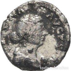 Monedas Imperio Romano: IMPERIO ROMANO! FAUSTINA MENOR. AUGUSTA, 147- 176. DENARIO PLATA! ROMA!. Lote 116872323