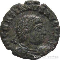 Monedas Imperio Romano: IMPERIO ROMANO! GRACIANO, 367-383! AE3 ARLES! 2,77 G // 17 MM MBC+ RARO PROFECIA MESIÁNICA DE SYBILI. Lote 118082563