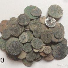 Monedas Imperio Romano: * NUMISALVARO * LOTE ( 30 ) 100 MONEDAS ROMANAS PARA LIMPIAR. Lote 118640311