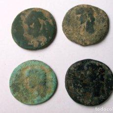 Monedas Imperio Romano: LOTE DE 4 ASES DE CLAUDIO. Lote 121405051