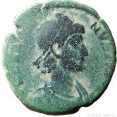 Monedas Imperio Romano: GRACIANO, Æ2 AQUILEIA SMAQP, REPARATIO REIPVB. RIC IX AQUILEIA 30A. Lote 121755979