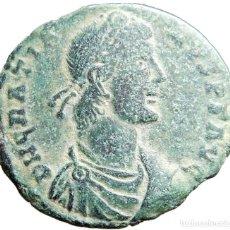 Monedas Imperio Romano: GRACIANO, Æ2 ARLES, SCON, REPARATIO REIPVB. RIC IX ARLES 20. Lote 121756259
