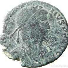 Monedas Imperio Romano: ESCASO Æ2 DE MAGNO MÁXIMO LUGDUNUM LVGS / P, REPARATIO REIPVB. RIC IX LYON 32. Lote 121756383
