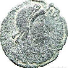 Monedas Imperio Romano: ESCASO Æ2 DE MAGNO MÁXIMO ARLES, SCON, REPARATIO REIPVB. RIC IX ARLES 27. Lote 121756655