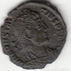 Monedas Imperio Romano: ROMA: 1/2 CENTENIONAL CONSTANCIO II ( 355-360 D.C. ) Nº 323 / FEL TEMP REPARATIO - 2,6 GR. Lote 121897479