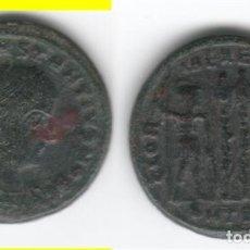 Monedas Imperio Romano: ROMA: 1/2 CENTENIONAL CONSTANCIO II ( 330-333 D.C. ) Nº 324 / GLORIA EXERCITUS - 2,9 GR. Lote 121900851