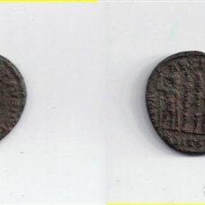 Monedas Imperio Romano: ROMA: 1/2 CENTENIONAL CONSTANCIO II ( 330-333 D.C. ) Nº 324 / GLORIA EXERCITUS - 2,4 GR. Lote 121901623