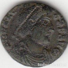 Monedas Imperio Romano: ROMA: CENTENIONAL VALENTE( 364-367 D.C. ) Nº 116 / SECURITAS REI PUBLICAE - 2,7 GR. Lote 122182787