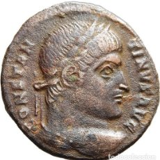 Monedas Imperio Romano: CONSTANTINO MAGNO, Æ FOLLIS. ARLES P*AR. DN CONSTANTINI MAS AVG // VOT · XX. RIC VII ARLES 252 C2. Lote 122279519
