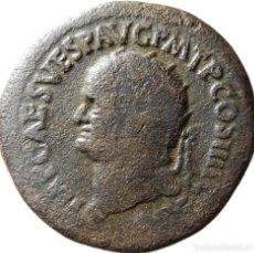 Monedas Imperio Romano: DUPONDIO Æ DEL EMPERADOR VESPASIANO.. Lote 122280011