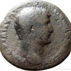Monedas Imperio Romano: ADRIANO Æ AS. MODIO EN REVERSO CON ESPIGAS, S-C, ACUÑADO EN ROMA.. Lote 122280323
