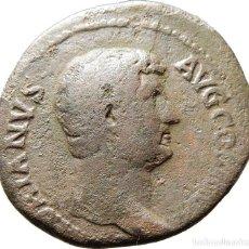 Monedas Imperio Romano: ADRIANO Æ AS. DACIA S-C. RIC II 850, ESCASO.. Lote 122280791