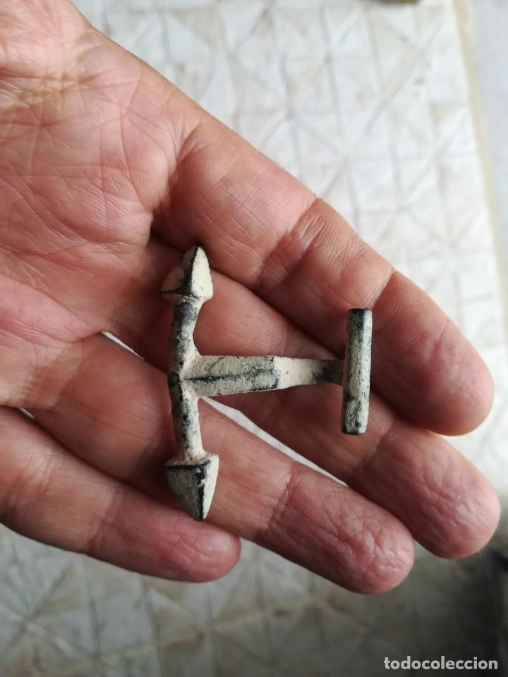 ESPECTACULAR PASADOR DE CAPA ROMANO. (Numismática - Periodo Antiguo - Roma Imperio)