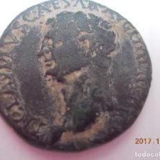 Monedas Imperio Romano: CLAUDIO I - AÑO 41-54 - DUPONDIO - REV. - CERES (DIOSA DE LA AGRICULTURA). Lote 125183371