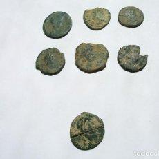 Monedas Imperio Romano: LOTE 7 DE MONEDAS ROMANAS BAJO IMPERIO. Lote 125220815