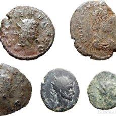 Monedas Imperio Romano: GALIENO - CLAUDIO II - VALENTINIANO . Lote 125230603