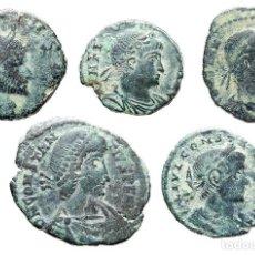 Monedas Imperio Romano: CURIOSO LOTE DE MONEDAS ROMANAS, (5).. Lote 125230939