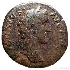 Monedas Imperio Romano: ANTONINO PIO Æ SESTERCIO.. Lote 125232907