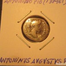 Monedas Imperio Romano: DENARIO DE ANTONINO PÍO (138 -161) RARA. Lote 128835295