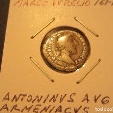 Monedas Imperio Romano: DENARIO DE MARCO AURELIO (161-180). Lote 128836095