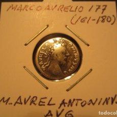 Monedas Imperio Romano: DENARIO DE MARCO AURELIO (161-180). Lote 128836487