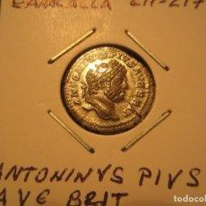 Monedas Imperio Romano: DENARIO DE CARACALLA (211-217) MUY BONITA, MÁS EN MANO. Lote 246428620