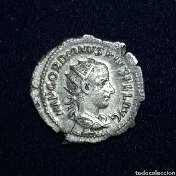 ANTONINIANO GORDIANO III, ROMA AETERNAE (Numismática - Periodo Antiguo - Roma Imperio)